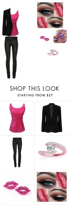 """""""lovely pink"""" by matty1167 on Polyvore featuring rag & bone and Allurez"""
