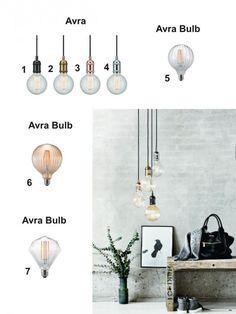 Svítidla.com - Nordlux - Avra + Avra Bulb - Moderní svítidla - světla, osvětlení, lampy, žárovky, svítidla, lustr