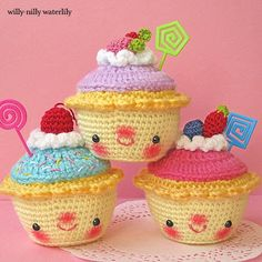 Willy-Nilly Waterlily: cupcakes