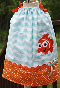 Hey, I found this really awesome Etsy listing at https://www.etsy.com/listing/154762900/finding-nemo-girls-pillowcase-dress-in