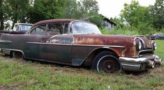 Started A Few Years Ago: 1956 Pontiac Star Chief - http://barnfinds.com/started-a-few-years-ago-1956-pontiac-star-chief/
