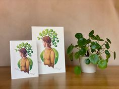 Pilea punk - botanical illustration / poster / plant lady / plant print / houseplant Plant Illustration, Botanical Illustration, Punk, Plant Art, All Poster, Houseplant, Begonia, Botanical Prints, Beautiful Artwork