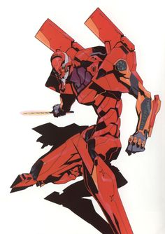 EVA-02 - Neon Genesis Evangelion (End of Evangelion version):
