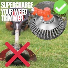 ❌ Quit wasting your time with annoying string whacker heads that constantly break.  ✅ The Indestructible Trimmers never breaks, works on any surface, and trims 10X better!  ✅ The head universally fits any trimmer, and works with both electric or motor.  GET THE INDESTRUCTIBLE TRIMMER NOW!