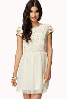 Floral Crochet Dress   FOREVER21 - 2000052020