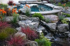Landscaping Business Near Me Landscaping A Slope, Landscaping Company, Landscaping With Rocks, Landscape Bricks, Landscape Design, Boulder Rock, Rock Decor, Rock Design, Bouldering