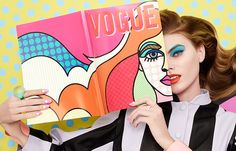 Maryna Linchuk stars in a pop-art beauty story for the March 2013 issue of Vogue Japan shot by Lacey, styled by Beth Fenton with make-up by Andrew Gallimore. Vogue Japan, Beauty Editorial, Editorial Fashion, Makeup Editorial, Moda Pop Art, Art Pop, Still Life Photography, Fashion Photography, Beauty Photography