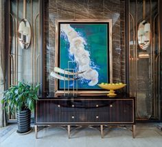 Find more interior design luxurious and modern entryway inspirations at http://www.maisonvalentina.net/