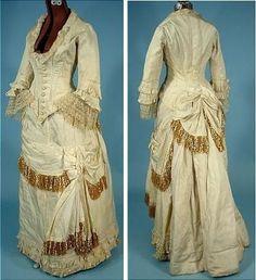 Подвенечное платье 19 века - ручная работа,
