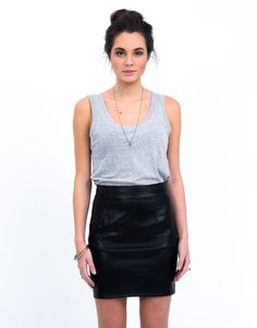 All About Eve Cha Cha Skirt | All About Eve #fashion All About Eve, Free Spirit, Leather Skirt, Celebrities, Skirts, Summer, Inspiration, Vintage, Collection