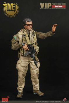 onesixthscalepictures: Soldier Story Red Team VIP Protection Team (China Model Exposition) : Latest product news for 1/6 scale figures (12 inch collectibles).