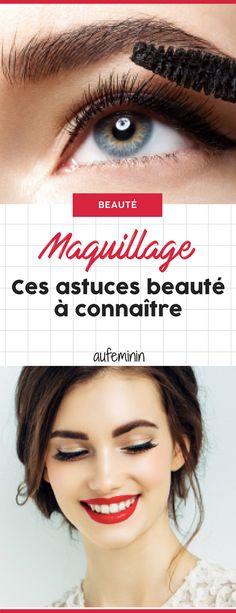 Ces astuces beauté maquillage faciles à connaître #astuce #secret #conseil #beauté #maquillage #yeux #bouche #ongles #aufeminin