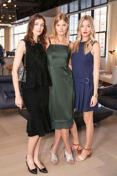 Kati Nescher, Constance Jablonski, and Martha Hunt - June 2016