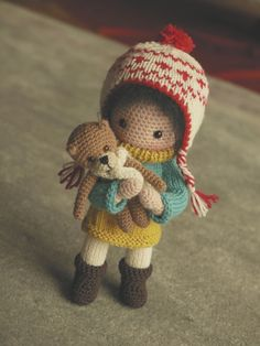 toymakingweekend | a little gift for Mei: her own teddy | Lenekie | Flickr