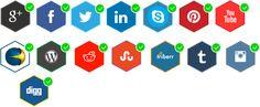 socialmediatalk social badges
