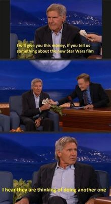 i love harrison ford