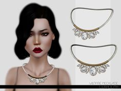 leahlillith:  Wildfire Necklace: DOWNLOAD(SIMS 3)