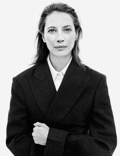 Christy Turlington by Daniel Jackson for Vogue Germany October 2017