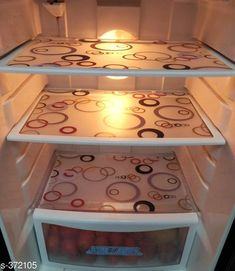 Fridge Covers Amazing PVC Refrigerator Drawer Mats Pack Of 3  *Material* PVC   *Dimension * 17 x 12 Inches   *Description* It Has 3 Pieces Of Refrigerator Drawer Mats   *Note* Color May Vary  *Sizes Available* Free Size *   Catalog Rating: ★4 (1066)  Catalog Name: Deals of the day #1599 CatalogID_39907 C131-SC1623 Code: 621-372105-