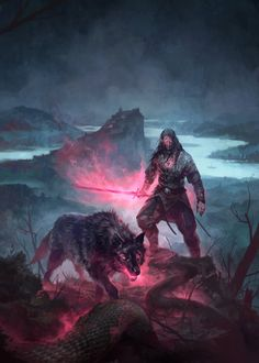Black Warlock by michalivan