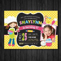 Cupcake Invitations, Printable Birthday Invitations, Digital Invitations, Custom Invitations, Party Printables, Cup Cakes, Thank You Cards, Party Time, Rsvp