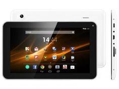 "Tablet Multilaser M9 8GB Tela 9"" Wi-Fi - Android 4.4 Proc. Quad Core Câm. 2MP + Frontal"