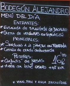 Dining well for less in San Sebastián-Donostia, the European Capital of Culture 2016 Bilbao San Sebastian, Chalkboard Quotes, Art Quotes, Travel, Wine Cellars, Salads, Homemade, Viajes, Destinations