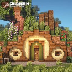 Minecraft Farm, Minecraft Cottage, Cute Minecraft Houses, Minecraft House Tutorials, Minecraft Medieval, Minecraft Plans, Minecraft House Designs, Amazing Minecraft, Minecraft Construction