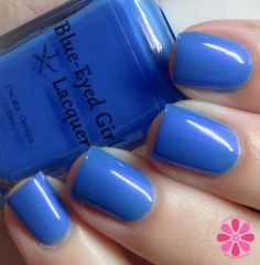 Blue Eyed Girl Lacquer Spark In The Dark Collection Swatches & Review | Cosmetic Sanctuary