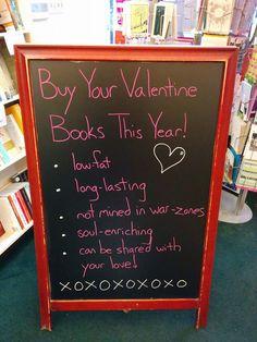 Valentine's / Main Street Books, Mansfield, OH