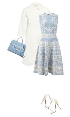 """Spring Dress"" by marion-fashionista-diva-miller ❤ liked on Polyvore featuring Paul & Joe Sister, Alexander McQueen, Mario Valentino, contestentry and springdress"