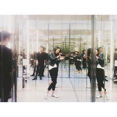 Inside Saint Laurent soho shop's dressing room. // photo by Bonnie Tsang