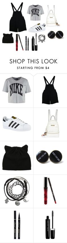 """Swag"" by natalichxituni on Polyvore featuring NIKE, American Apparel, adidas, River Island and Marc Jacobs"