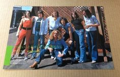 1977 Foreigner Japan Mag Photo Pinup Mini Poster clipping Cutting | eBay