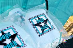 Boys Rock Favor Labels Rock A Bye Baby Shower by Jatyourservice, $9.50