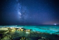 night, sky, stars, the Milky Way