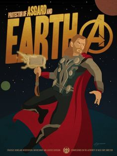 5 Avengers Propaganda #Posters That Will Accidentally Recruit You #marvel #art #thor