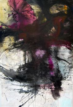 Original art for sale at UGallery.com | Born of the Wind and Rain by Kara Barkved | acrylic painting | 36' h x 24' w