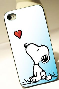 Snoopy Love for iPhone 4/4S case iPhone 5 case by OXFORDINCASE