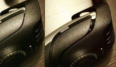 [Werbung] Braun BT5090 Barttrimmer : einer von zwei Aufsätzen – rechts auf Stufe 5 ausgefahren, Stufenweise in 10 Schritten + Zwischenstufen verstellbar