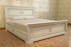 Проект резной кровати из дерева Wood Furniture Legs, Bedroom Furniture Design, Wood Beds, Bed Furniture, Wood Bed Design, Bed Frame Design, Cama Queen Size, Solid Wood Platform Bed, Home