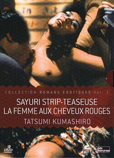 La femme aux cheveux rouges • Sayuri strip-teaseuse • Tatsumi Kumashiro