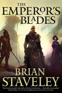 The Emperor's Blades (Chronicle of the Unhewn Throne, #1)---I was mildly disappointed.  I guess I was expecting something... else.  It was a good story, good characters, just not what I was expecting.  The whole bit about embracing the emptiness resonated.  I find it easier to drive that way.  No expectation, no urgency, no ego.  Just let instinct rule.