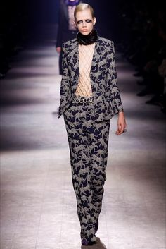 Sfilata Dries Van Noten Parigi - Collezioni Autunno Inverno 2016-17 - Vogue