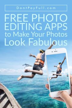 Do you want to save your great holiday memories forever? Check out these free photo editing apps that will transform a newbie into a pro. #DontPayFull