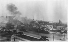 Steam train, Shattuck Avenue, Berkeley, ca. Berkeley California, California History, California Usa, East Bay Area, Train Engines, Wild West, Old Pictures, Ancestry, Genealogy