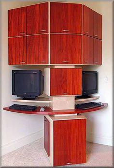 165 best corner computer desks images in 2019 desk home office rh pinterest com