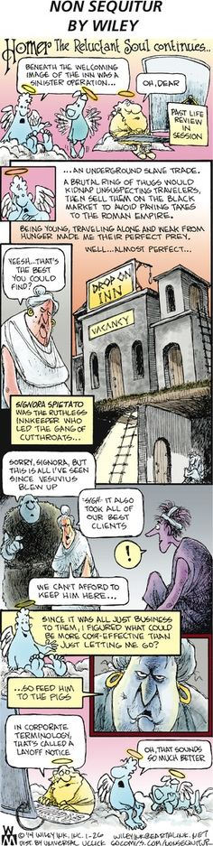 Non Sequitur Comic Strip, January 26, 2014 on GoComics.com