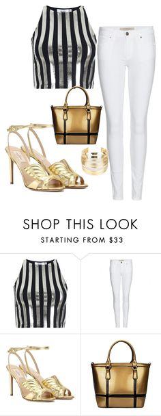 """""""Untitled #134"""" by arijana-cehic ❤ liked on Polyvore featuring beauty, Bundy & Webster, Burberry, Valentino and WithChic"""