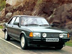 Few big saloons of the had the cool factor in quite the way of the Ford Granada. Read the history of the Ford that changed the executive car landscape Autos Ford, Audi 200, Volkswagen Golf Mk2, Gp F1, Ford Granada, Ford Classic Cars, Old Fords, Classic Motors, Parking